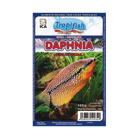 Daphnia Congelada 100 Gr