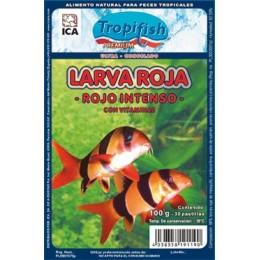 Larva Roja Congelada 100 Gr