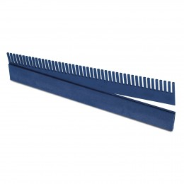 Rebosadero peine con guía de 32 cm