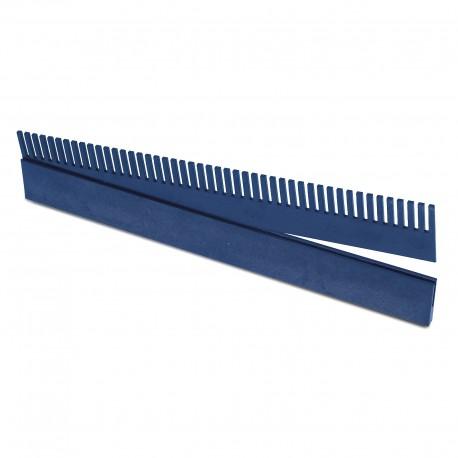 Rebosadero peine con guía de 50 cm