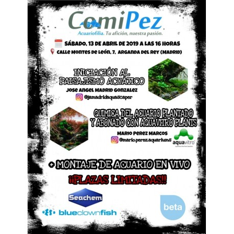 Workshop Comipez Mario & José Angel
