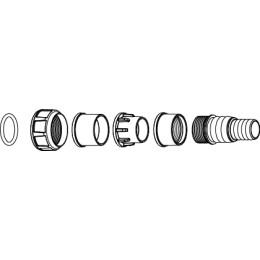 Conexiones para tuberías rígidas y flexibles  Syncra smart DC WIFI