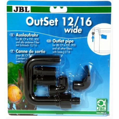 Tubo de salida 12/16 JBL OutSet (pico de pato)