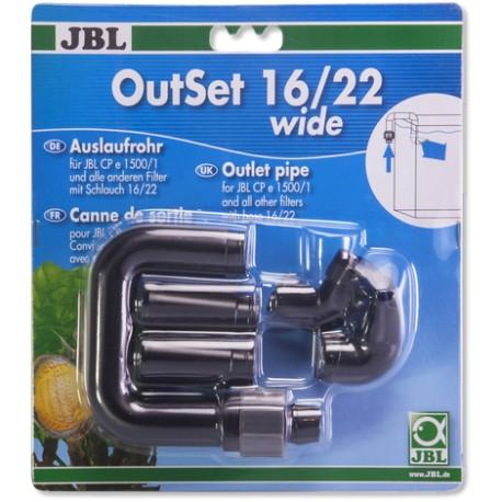 Tubo de salida 16/22 JBL OutSet (pico de pato)