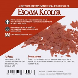 Escama KColor 125 Gr / 1 Litro