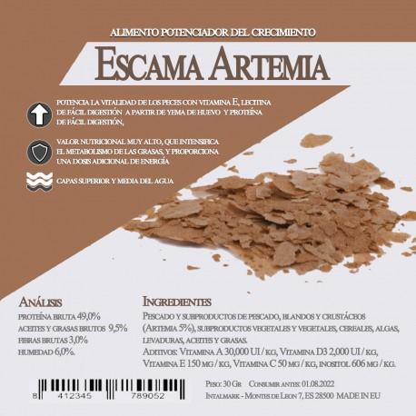 Escama Artemia 100 Gr / 1 Litro