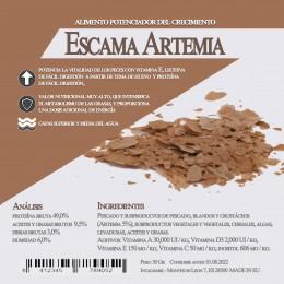 Escama Artemia 400 Gr / 3 Litro