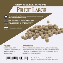 Pellet Large 1 Litro / 400 Gr