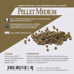 Pellet Medium 100 Gr