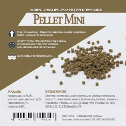Pellet Mini 1 Litro / 600 Gr