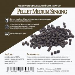 Pellet Medium  Sinking 700 Gr / 1 Litro