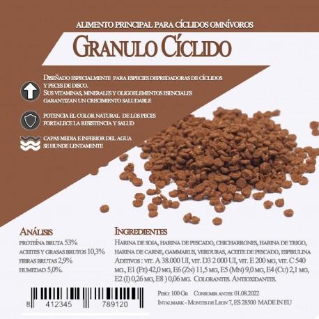 Granulo Cíclido 1 Litro / 550 Gr