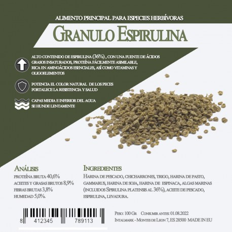 Granulo Espirulina