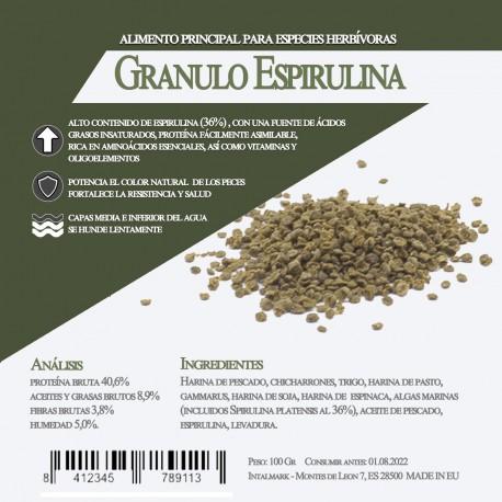Granulo Espirulina 1 Litro / 500 Gr
