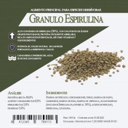 Granulo Espirulina 3 Litros / 1400 Gr