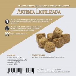 Artemia Liofilizada 25 Gr