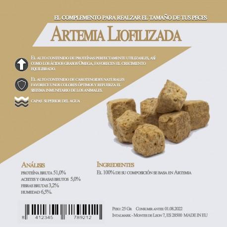 Artemia Liofilizada