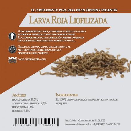 Larva de mosquito Liofilizado