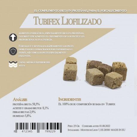 Tubifex Liofilizado