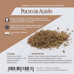 Polvo de alevin 30 Gr