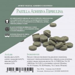 Pastilla Adhesiva Espirulina 100 Gr