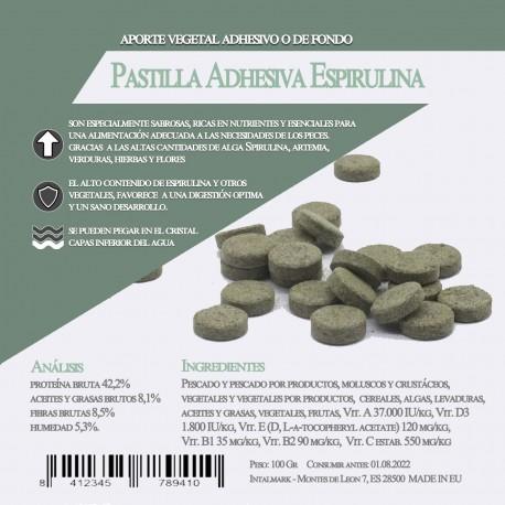 Pastilla Adhesiva Espirulina