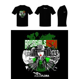 Camiseta Aquaflora Aquagirls Rock